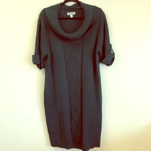 Dressbarn Green Sweater Dress
